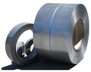 We supply expanded metal in both sheets and coils.